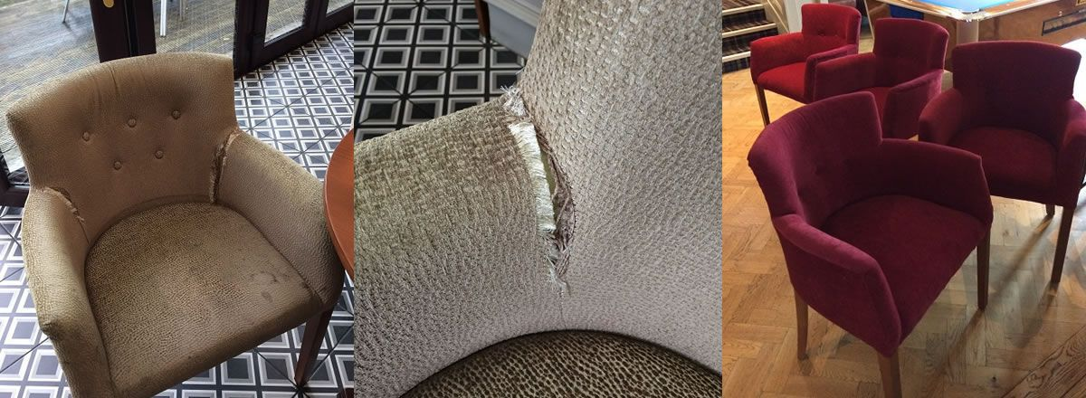 re-cover upholstery repair sefton merseyside